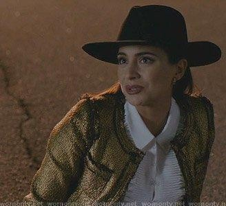 Cristal's black hat please - SeenIt