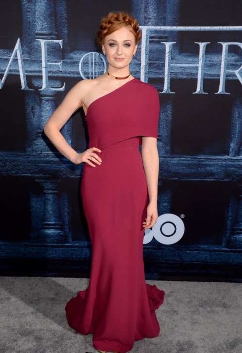 Sophie Turner of Game of Thrones on the red carpet. Yay or Nay? - SeenIt
