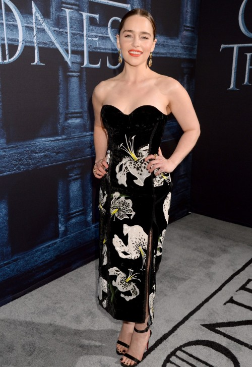 Emilia Clarke of Game of Thrones on the red carpet. Yay or Nay? - SeenIt