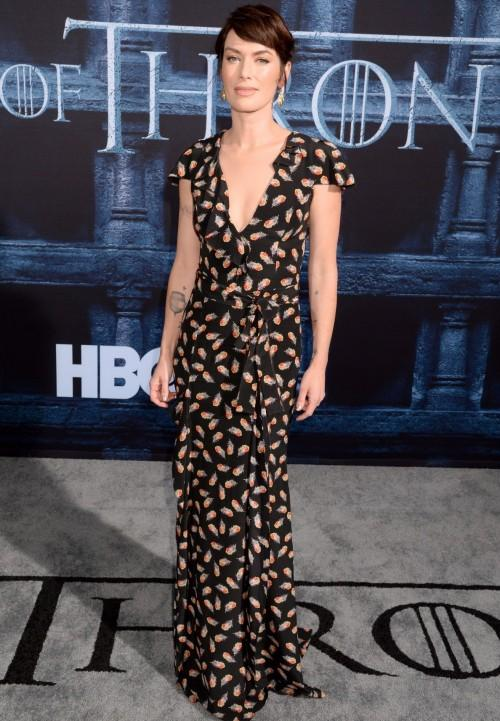 Lena Headey of Game of Thrones on the red carpet. Yay or Nay? - SeenIt