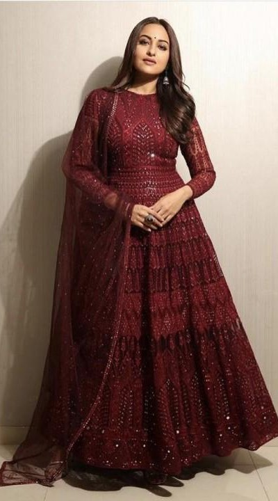 I am looking for the similar anarkali which sonakshi is wearing - SeenIt