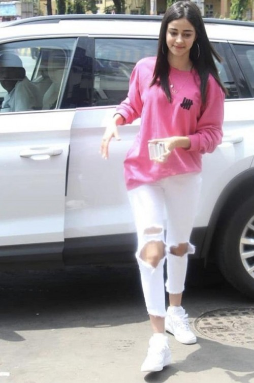 Looking for a similar outfit like Ananya Pandey is wearing - SeenIt