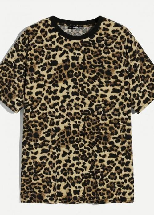 same leopard print shirt - SeenIt