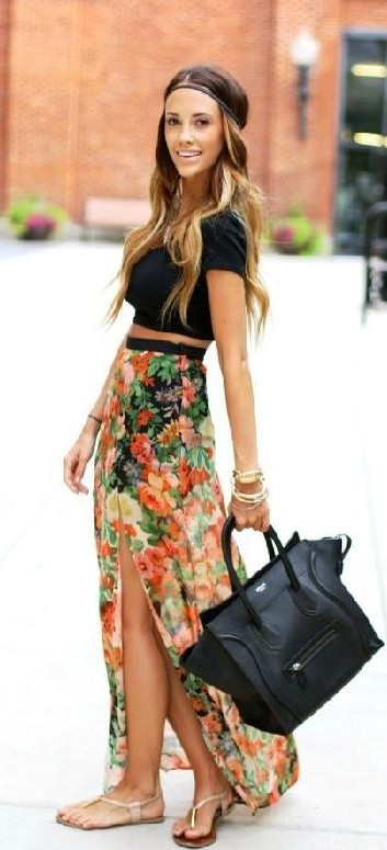 Do you think this slit skirt can become a summer fashion trend? - SeenIt