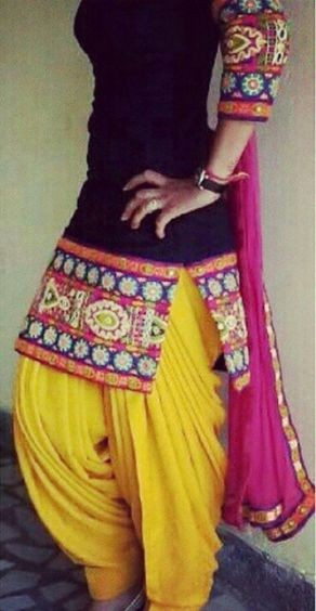 This patiala salwar shirt  is so pretty! Help me find it please ! - SeenIt
