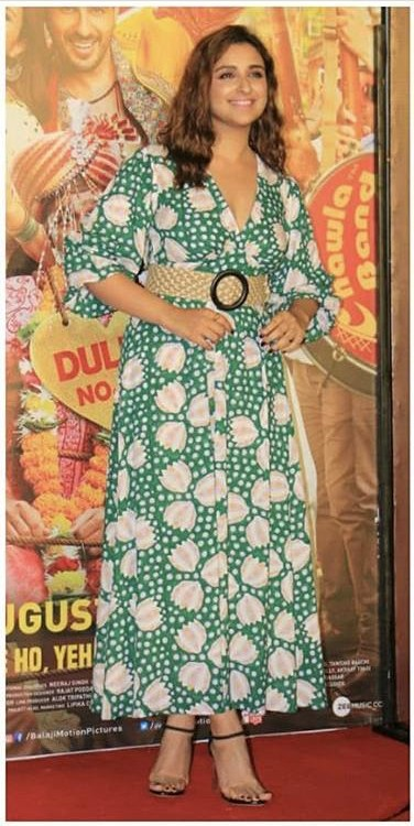 Looking for a similar maxi dress online like Parineeti Chopra is wearing - SeenIt