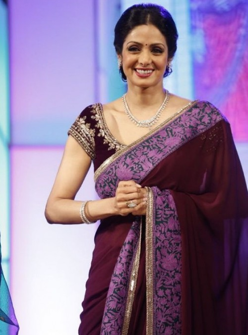 This maroon saree is a must have in my wardrobe. - SeenIt