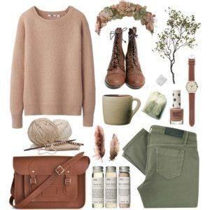 I'm dying to find a sweater and pair of boots like these! Any ideas where? - SeenIt