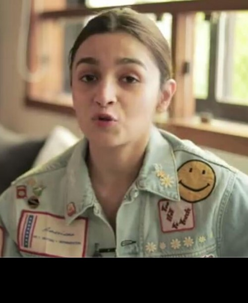 Exactly same or may be similar jacket like her ,but same colour which alia bhatt is wearing - SeenIt