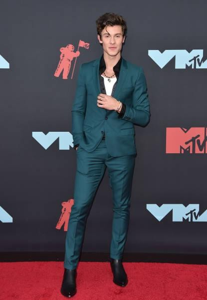 Yay or nay? Shawn Mendes attends the 2019 MTV Video Music Awards at Prudential Center - SeenIt
