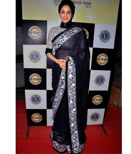 Shridevi's sarees are so amazing. Help me get this one. - SeenIt