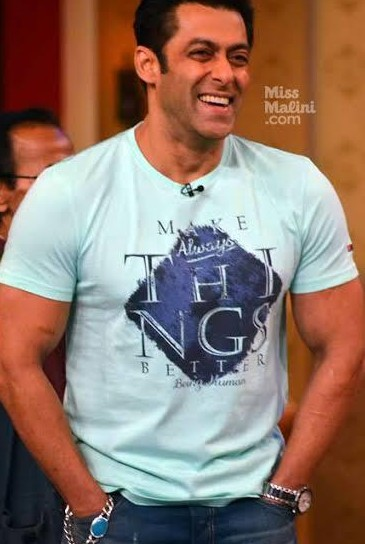 Im looking for this tshirt which salman khan is wearing - SeenIt