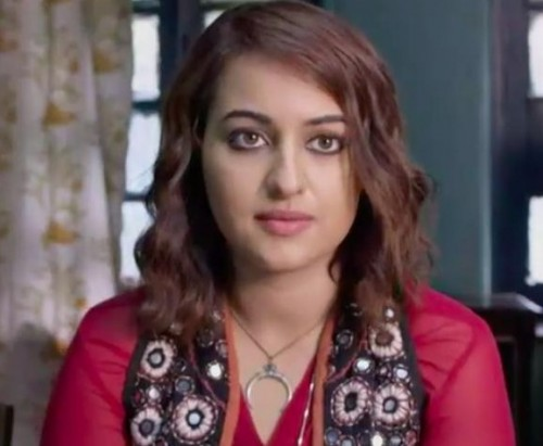 I am looking for the same necklace and pendant Sonakshi is wearing in this image and it is from the movie Akira. - SeenIt