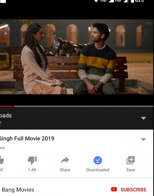 want the sweater which shahid kapoor is wearing in the movie Kabir Singh - SeenIt