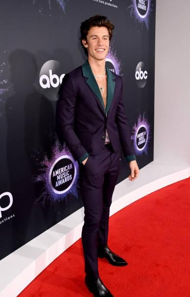 Yay or nay?  Shawn Mendes attends the 2019 American Music Awards at Microsoft Theater - SeenIt