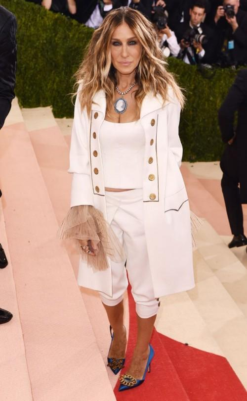 Sarah Jessica Parker in Monse at the Met Gala this year. - SeenIt
