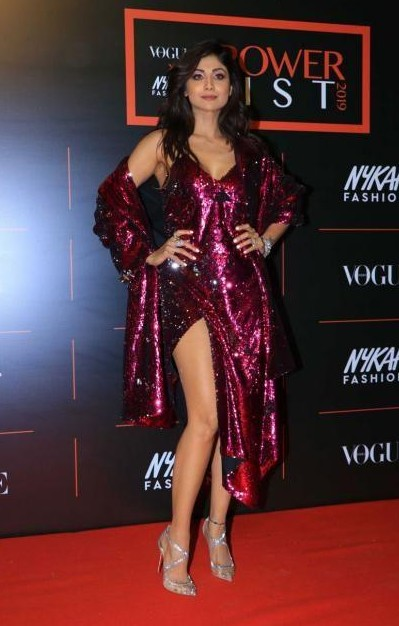 Yay or nay? Shilpa Shetty attends the Vogue X Nykaa Fashion Power List 2019 in Mumbai - SeenIt