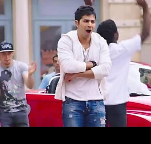 I'm looking for this white hoodie that Varun Dhawan is wearing - SeenIt