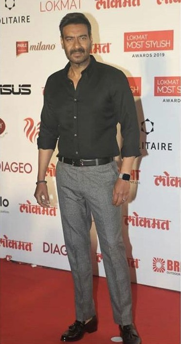 Yay or nay? Ajay Devgan attends the Lokmat Style awards 2019 - SeenIt