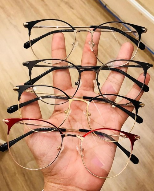 I'm looking for these glasses, precisely the silver ones at the top. Any online shop would help! - SeenIt