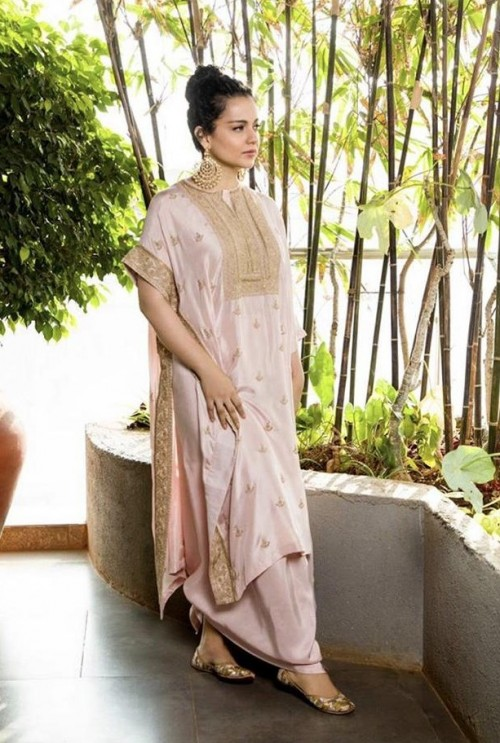 Looking for a similar outfit online like Kangana Ranaut is wearing for the promotions of Panga movie - SeenIt