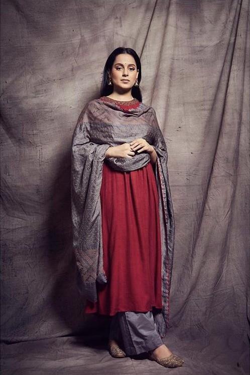 Yay or nay? Kangana Ranaut wearing a Priya Parikh attire at the promotions of Panga - SeenIt
