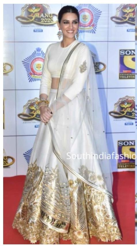 similar to this lehenga which kriti sanon is wearing - SeenIt