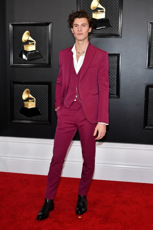 Yay or nay? Shawm Mendes attends the Grammys 2020 held at the Staples center yesterday night - SeenIt