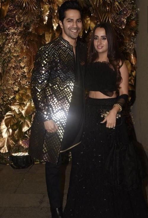 Yay or nay? Varun Dhawan attends the wedding reception of Armaan Jain - SeenIt
