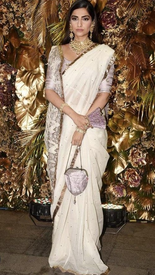 Yay or nay? Sonam Kapoor attends the wedding reception of Armaan Jain - SeenIt