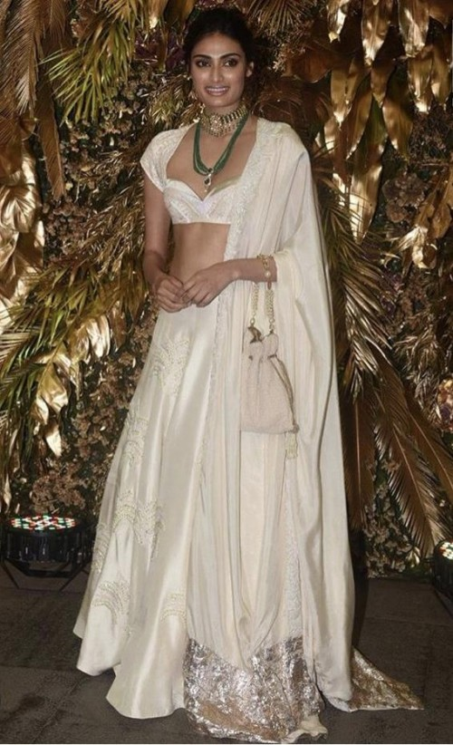 Yay or nay? Athiya Shetty attends the wedding reception of Armaan Jain - SeenIt