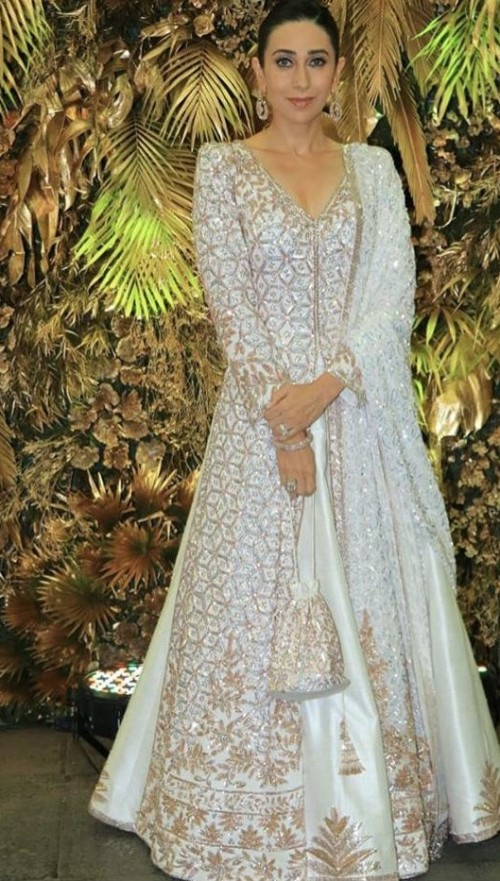 Yay or nay? Karisma Kapoor attends the wedding reception of Armaan Jain - SeenIt