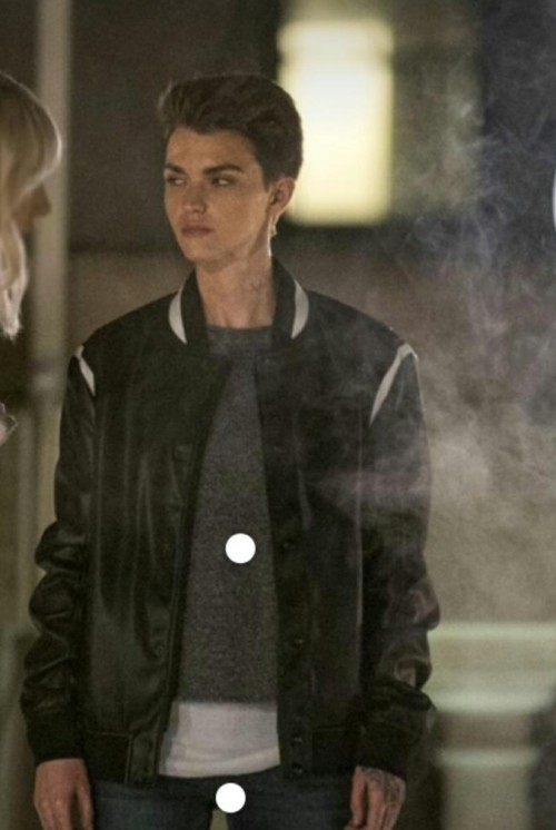 Looking for this jacket worn by Ruby Rose in Batwoman - SeenIt