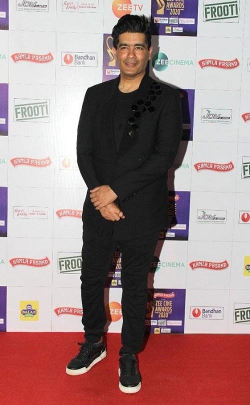 Yay or nay? Manish Malhotra attends the Zee cine awards 2020 held in Mumbai - SeenIt
