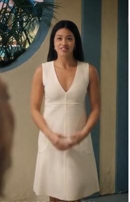 Want that simple white dress please which jane is wearing - SeenIt