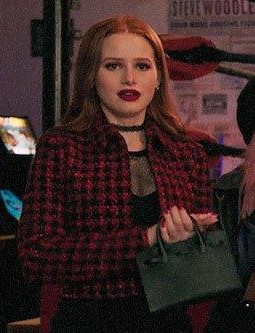 Cheryl's houndstooth jacket please from riverdale - SeenIt