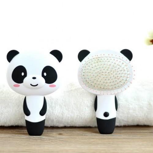 Cute panda hairbrush - SeenIt