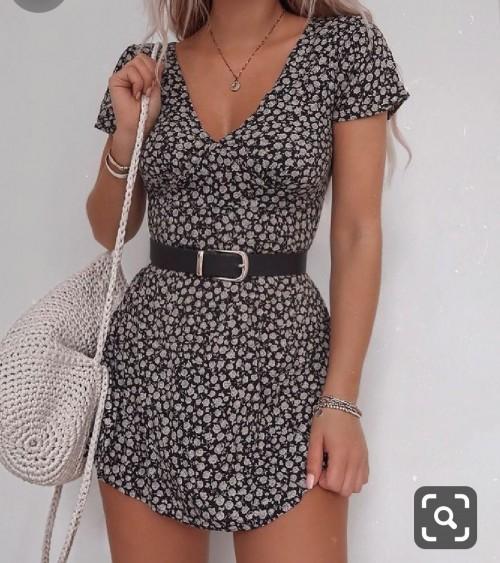 this/similiar style dress - SeenIt