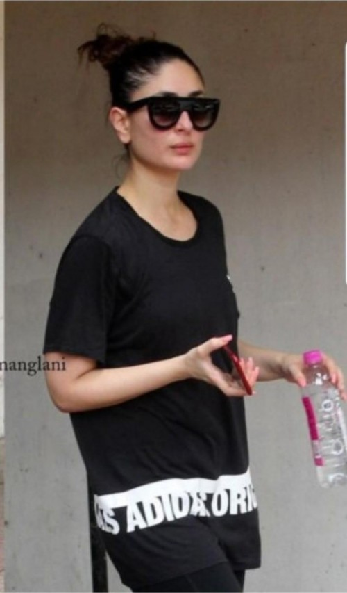 Looking for this shirt and glasses which kareena kapoor khan is wearing - SeenIt