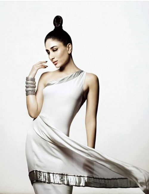 Yay or nay? Karee a Kapoor wearing a silver satin attire - SeenIt
