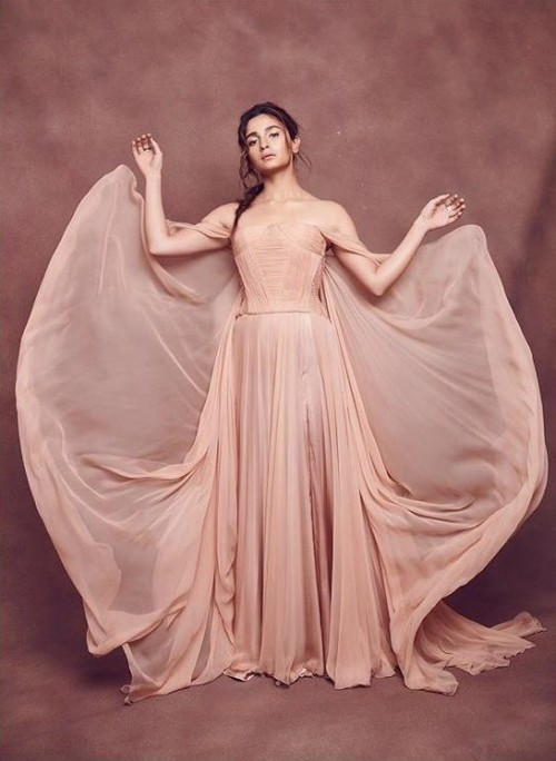Yay or nay? Alia Bhatt wearing a nude colored gown recently - SeenIt