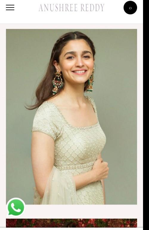 Same alia bhatt earrings pls but at a low cost - SeenIt