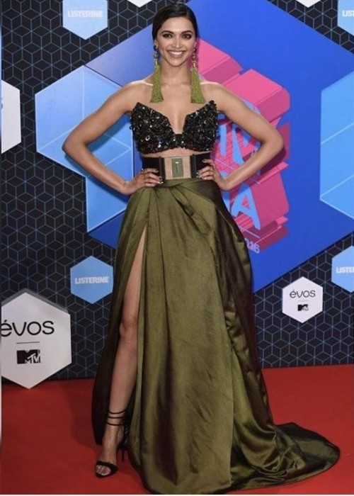 Yay or nay? Deepika Padukone Spotted wearing strapless gown recently - SeenIt