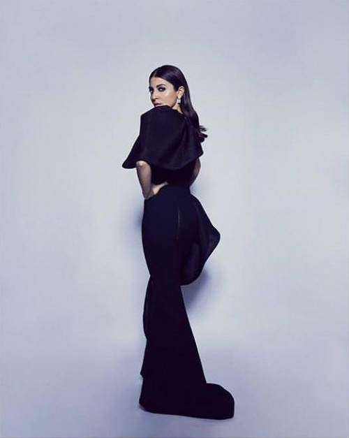 Yay or nay? Anushka Sharma Spotted wearing a haute couture black gown - SeenIt