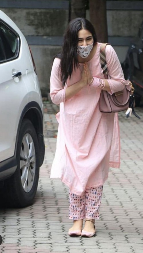Find me a similar pink kurta please - SeenIt