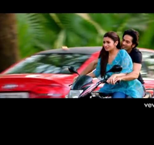Looking for similar silk top Alia Bhatt is wearing in the bike scene. - SeenIt