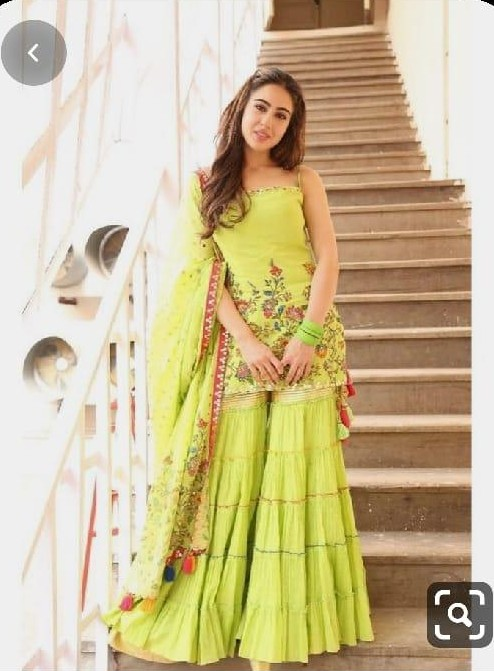 want this outfit which sara ali khan is wearing - SeenIt