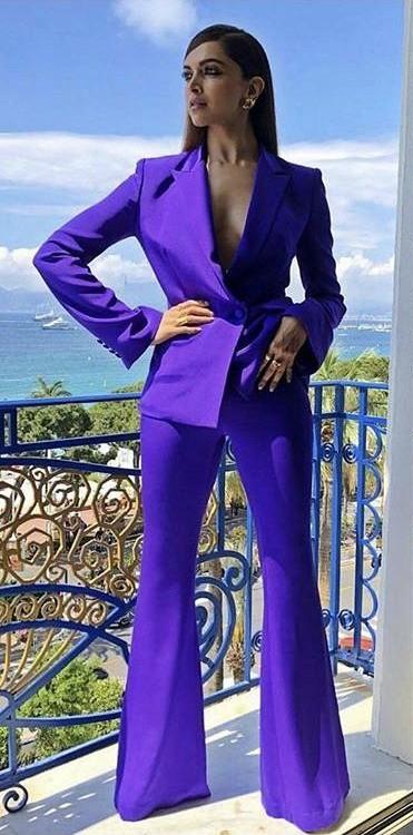 Help me find a similar pant suit like Deepika Padukone is wearing - SeenIt