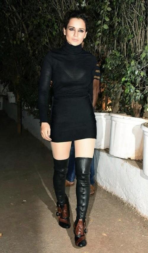 Kangana Ranaut's black dress please - SeenIt