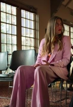 Looking for a similar pink pant suit online - SeenIt